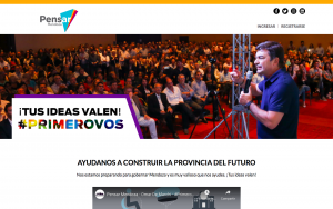 Open innovation in electoral campaign
